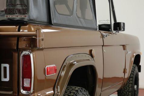 1974 Ford BRONCO  RANGER 302 V8 AUTO SOFT TOP 4X4 COLLECTOR | Denver, CO | Worldwide Vintage Autos in Denver, CO