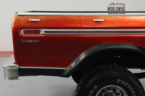 1974 Ford F100 360 CID V8. AUTO. LIFTED. MUST SEE! 4X4. | Denver, CO | Worldwide Vintage Autos in Denver, CO