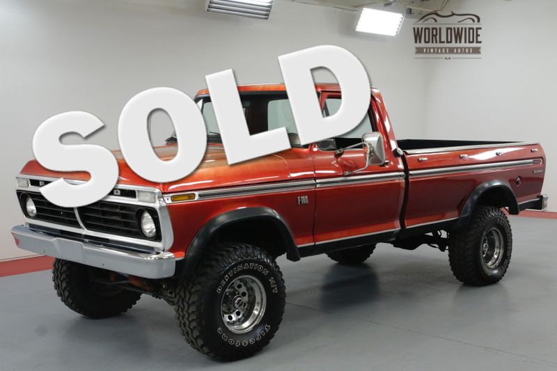 1974 Ford F100 360 CID V8. AUTO. LIFTED. MUST SEE! 4X4. | Denver, CO | Worldwide Vintage Autos