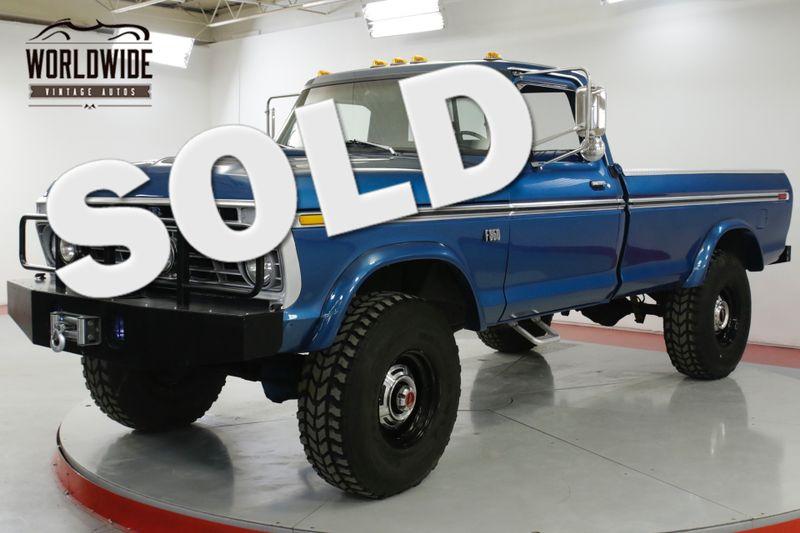 1974 Ford F250 HIGH BOY FRAME OFF RESTORED 4x4 V8 WINCH | Denver, CO | Worldwide Vintage Autos