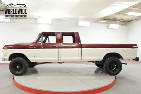 1974 Ford F250 HIGHBOY 4x4 RARE CREW CAB 390 V8 PS PB | Denver, CO | Worldwide Vintage Autos in Denver, CO