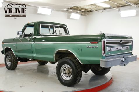 1974 Ford F250 RANGER XLT 390 V8 AUTO 4x4 PS PB MUST SEE | Denver, CO | Worldwide Vintage Autos in Denver, CO