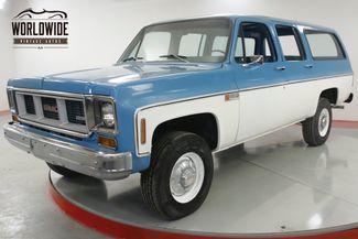 1974 GMC SUBURBAN 4x4 COLLECTOR 17K ORIGINAL MILES 1 OWNER    Denver, CO   Worldwide Vintage Autos in Denver CO