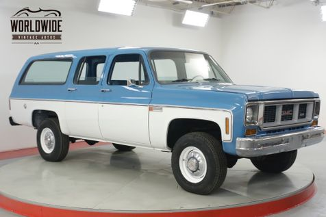 1974 GMC SUBURBAN 4x4 COLLECTOR 17K ORIGINAL MILES 1 OWNER  | Denver, CO | Worldwide Vintage Autos in Denver, CO