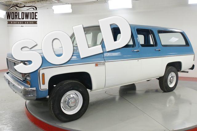 1974 GMC SUBURBAN in Denver CO