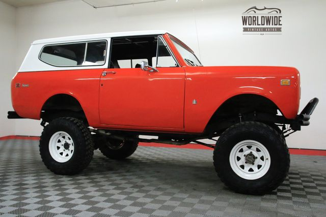 1974 International Harvester Scout LIFTED V8 AUTO CONVERTIBLE!: CALL 1-877-422-2940! FINANCING! WORLD WIDE SHIPPING. CONSIGNMENT. TRADES. FORD