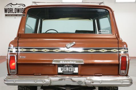 1974 Jeep CHEROKEE 4X4 PS PB LOW MI 1ST YR WAGONEER  | Denver, CO | Worldwide Vintage Autos in Denver, CO