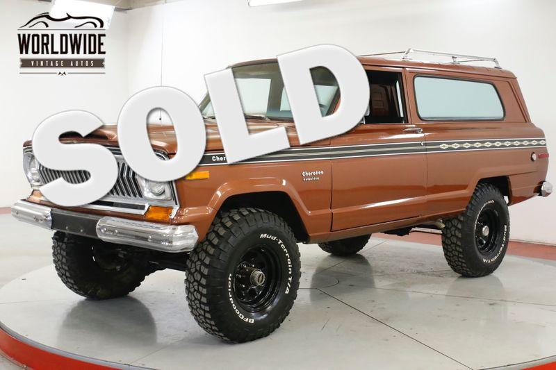 1974 Jeep CHEROKEE 4X4 PS PB LOW MI 1ST YR WAGONEER    Denver, CO   Worldwide Vintage Autos