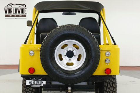 1974 Jeep CJ5  RESTORED V8 AZ JEEP SINCE NEW 4X4 MUST SEE | Denver, CO | Worldwide Vintage Autos in Denver, CO