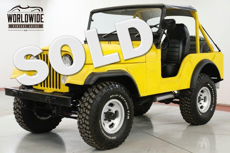 1974 Jeep CJ5  RESTORED V8 AZ JEEP SINCE NEW 4X4 MUST SEE | Denver, CO | Worldwide Vintage Autos