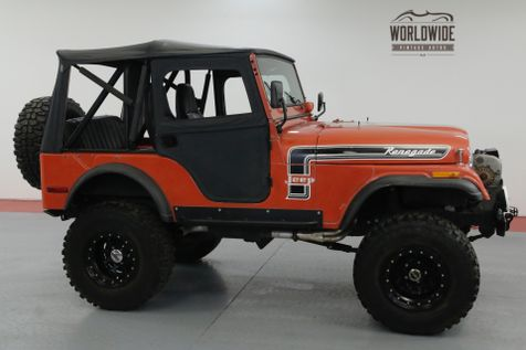 1974 Jeep CJ5  RENEGADE HIGH DOLLAR CUSTOM. ORIGINAL PAINT. | Denver, CO | Worldwide Vintage Autos in Denver, CO