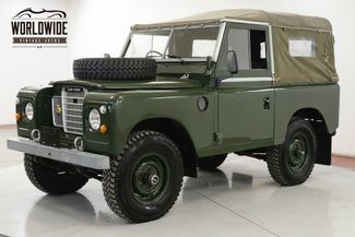 1974 Landrover SERIES 3 RIGHT HAND DRIVE 4 SPD MANUAL 4X4 REBUILT  | Denver, CO | Worldwide Vintage Autos in Denver CO