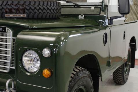 1974 Landrover SERIES 3 RIGHT HAND DRIVE 4 SPD MANUAL 4X4 REBUILT  | Denver, CO | Worldwide Vintage Autos in Denver, CO