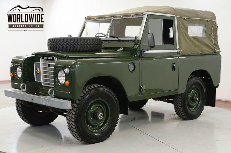 1974 Landrover SERIES 3 RIGHT HAND DRIVE 4 SPD MANUAL 4X4 REBUILT  | Denver, CO | Worldwide Vintage Autos