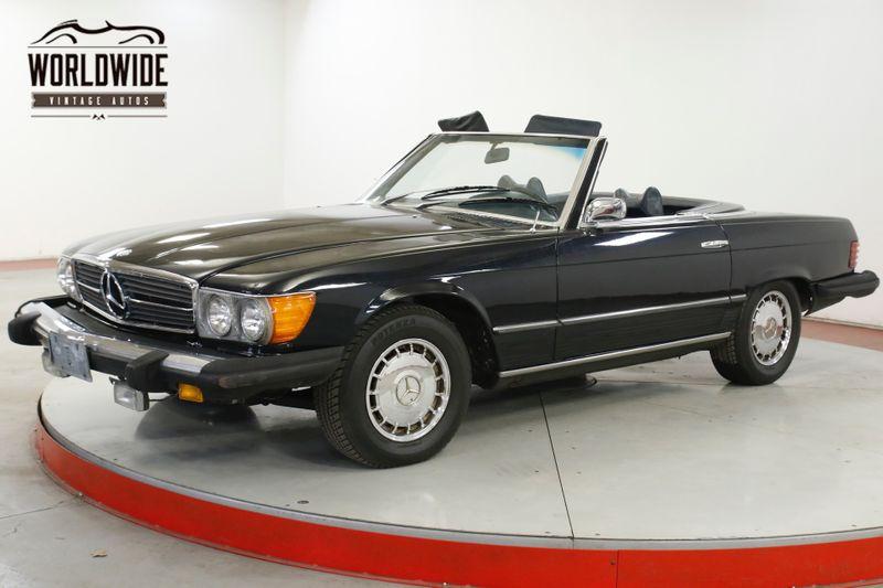 1974 Mercedes 450SL 73K MILES CONVERTIBLE/HARDTOP COLD AC RARE | Denver, CO | Worldwide Vintage Autos