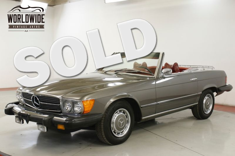 1974 Mercedes-Benz 450SL 18K MILES HARDTOP/CONVERTIBLE  | Denver, CO | Worldwide Vintage Autos
