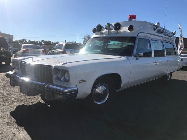 1974 Oldsmobile Ninety Eight Ambulance