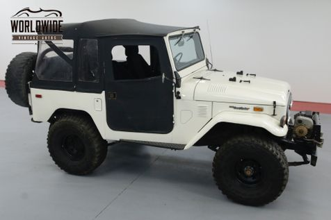 1974 Toyota FJ40 2F ENGINE OFF ROAD SET UP ONE OWNER 30YRS. | Denver, CO | Worldwide Vintage Autos in Denver, CO
