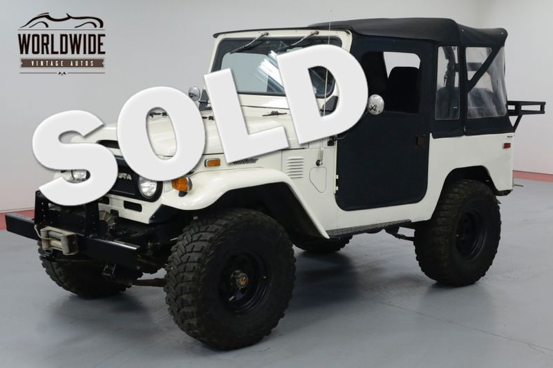 1974 Toyota FJ40 2F ENGINE OFF ROAD SET UP ONE OWNER 30YRS. | Denver, CO | Worldwide Vintage Autos