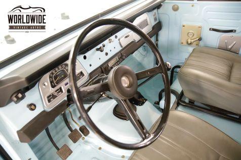 1974 Toyota LAND CRUISER  FJ40 FRAME OFF RESTORATION 2-F MOTOR   Denver, CO   Worldwide Vintage Autos in Denver, CO