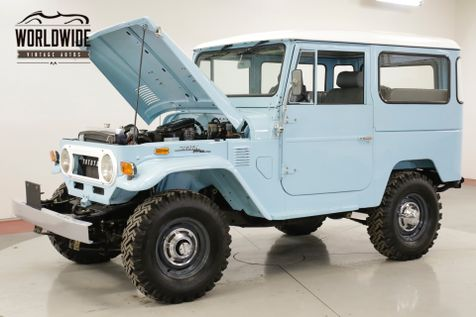 1974 Toyota LAND CRUISER  FJ40 FRAME OFF RESTORATION 2-F MOTOR | Denver, CO | Worldwide Vintage Autos in Denver, CO