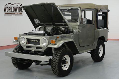 1974 Toyota LAND CRUISER FJ40. FRAME OFF RESTORED. RARE SOFT TOP PB  | Denver, CO | Worldwide Vintage Autos in Denver, CO