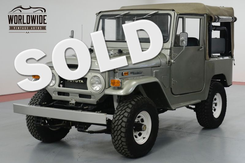 1974 Toyota LAND CRUISER FJ40. FRAME OFF RESTORED. RARE SOFT TOP PB  | Denver, CO | Worldwide Vintage Autos