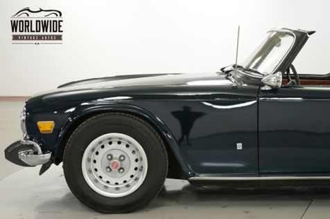 1974 Triumph TR6 CONVERTIBLE COLLECTOR MUST SEE RARE | Denver, CO | Worldwide Vintage Autos in Denver, CO