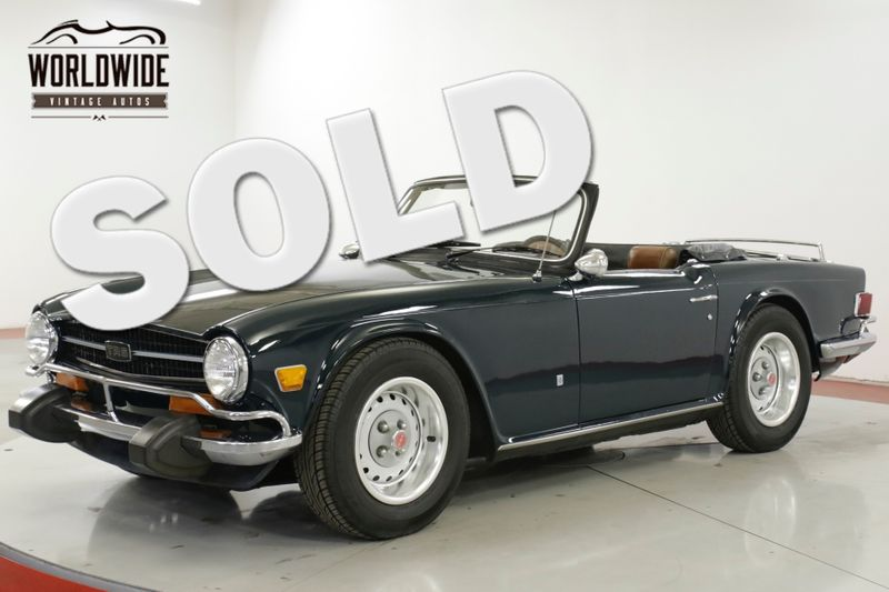 1974 Triumph TR6 CONVERTIBLE COLLECTOR MUST SEE RARE | Denver, CO | Worldwide Vintage Autos