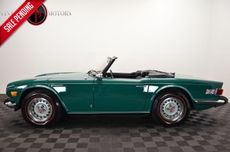 1974 Triumph TR6 BEAUTIFUL EMERALD GREEN CONVERTIBLE 4SPD in Statesville, NC 28677
