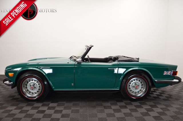 1974 Triumph TR6 BEAUTIFUL EMERALD GREEN CONVERTIBLE 4SPD