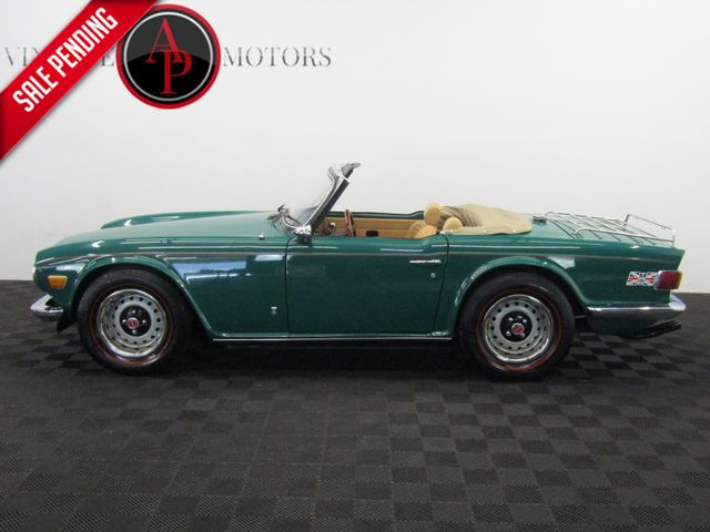 1974 Triumph TR6 POWER FRONT DISC BRAKES