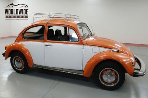 1974 Volkswagen BEETLE CRUISER. TWO TONE. RACK. FUN!  | Denver, CO | Worldwide Vintage Autos in Denver, CO