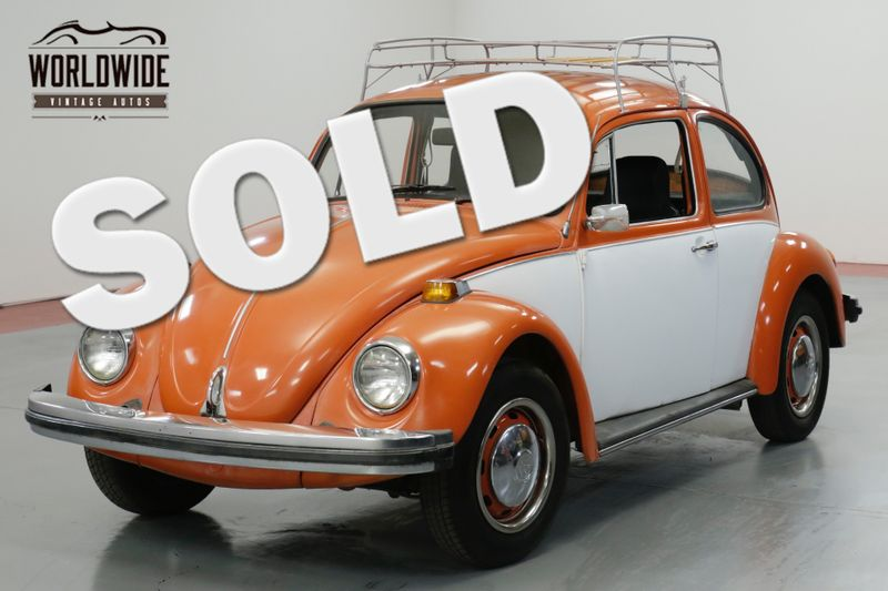 1974 Volkswagen BEETLE CRUISER. TWO TONE. RACK. FUN!  | Denver, CO | Worldwide Vintage Autos