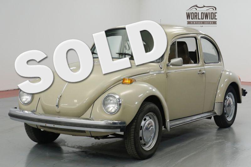 1974 Volkswagen BEETLE TWO OWNERS - ALL ORIGINAL  | Denver, CO | Worldwide Vintage Autos