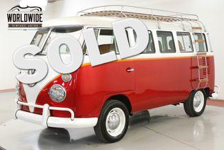 1974 Volkswagen KOMBI SAFARI WINDOWS, LIMO SEATING  | Denver, CO | Worldwide Vintage Autos in Denver CO