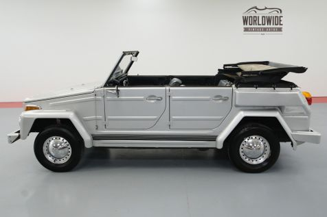 1974 Volkswagen THING 68000 ORIGINAL MILES WITH FULL TOP | Denver, CO | Worldwide Vintage Autos in Denver, CO