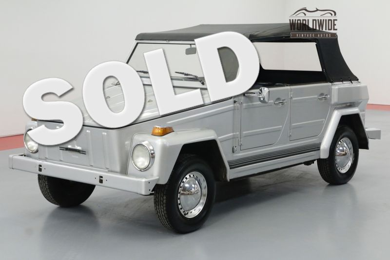1974 Volkswagen THING 68000 ORIGINAL MILES WITH FULL TOP | Denver, CO | Worldwide Vintage Autos