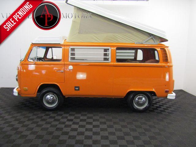 1974 Volkswagen WESTFALIA BAY WINDOW RESTORED