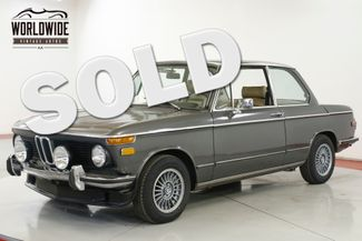 1975 BMW 2002 4-SPEED A/C RECARO SEATS    Denver, CO   Worldwide Vintage Autos in Denver CO