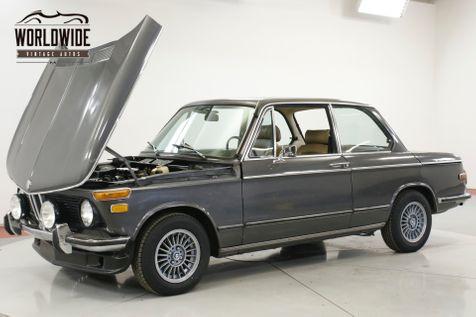 1975 BMW 2002 4-SPEED A/C RECARO SEATS  | Denver, CO | Worldwide Vintage Autos in Denver, CO
