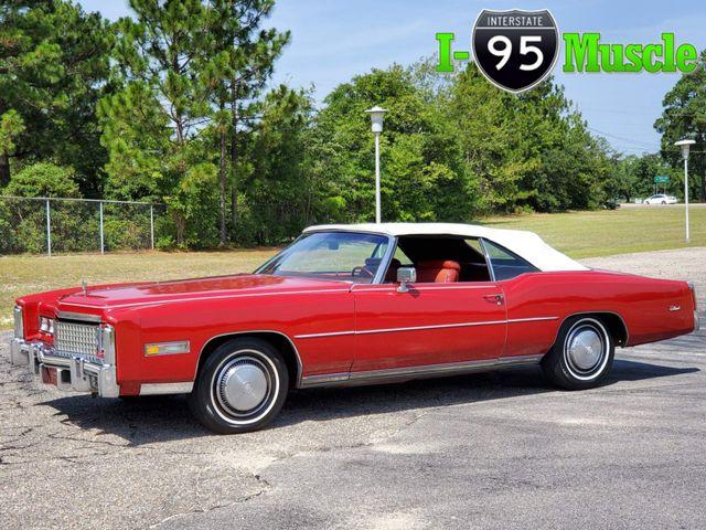 1975 Cadillac El Dorado Convertible