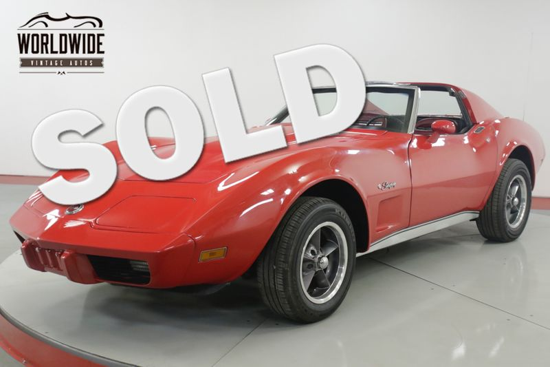 1975 Chevrolet CORVETTE NEW MB WHEELS POWERFUL 350 V-8  | Denver, CO | Worldwide Vintage Autos