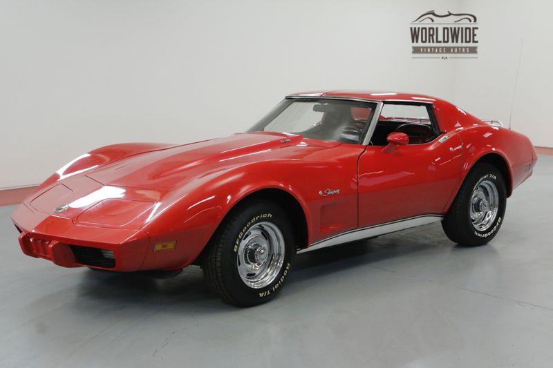 1975 Chevrolet CORVETTE STINGRAY 350 V8 AUTOMATIC. | Denver, CO | Worldwide Vintage Autos