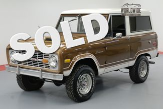 1975 Ford BRONCO UNCUT RANGER! 302V8 AUTO. RESTORED AND BEAUTIFUL   Denver, CO   Worldwide Vintage Autos in Denver CO