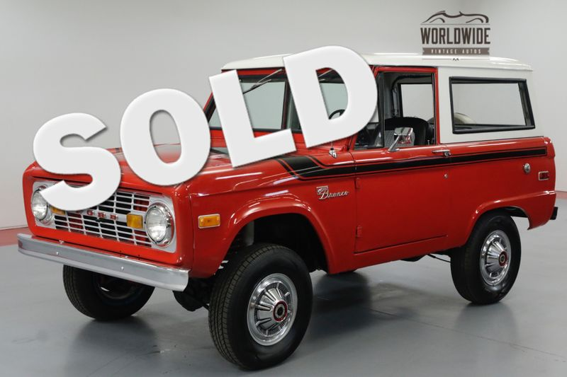 1975 Ford BRONCO RESTORED! UNCUT BRONCO. 302 V8! PS. PB. | Denver, CO | Worldwide Vintage Autos