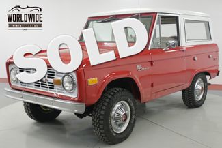 1975 Ford BRONCO in Denver CO