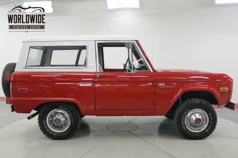 1975 Ford BRONCO SPORT PACKAGE UNCUT FACTORY HUBCAPS V8 AUTO | Denver, CO | Worldwide Vintage Autos in Denver, CO
