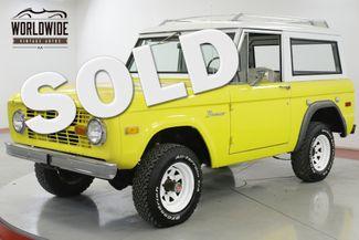1975 Ford BRONCO  4x4 CONVERTIBLE FACTORY HARDTOP NEW PAINT   Denver, CO   Worldwide Vintage Autos in Denver CO