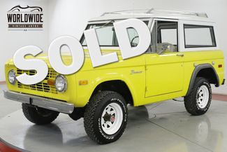 1975 Ford BRONCO  4x4 CONVERTIBLE FACTORY HARDTOP NEW PAINT | Denver, CO | Worldwide Vintage Autos in Denver CO